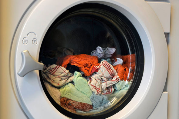 Boy, 8, drowned in family washing machine