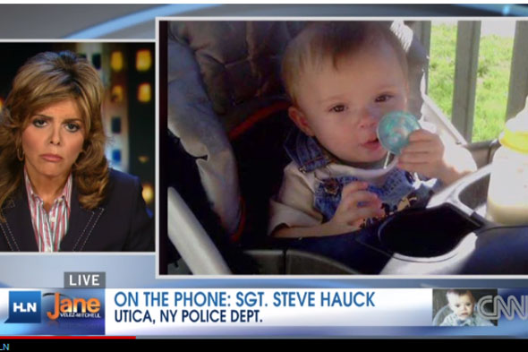 Missing baby's body found in container in New York river