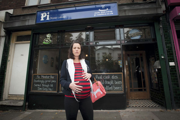 Pregnant woman left 'humiliated' after barman refused to serve her glass of wine