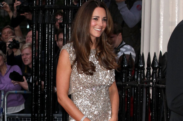 Kate Middleton tops list of 'celebrity bodies most mums admire'. Apparently.