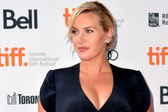 Pregnant Kate Winslet looks radiant at Toronto Film Festival