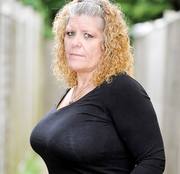 Mum refused breast reduction on NHS despite eight stone weight-loss