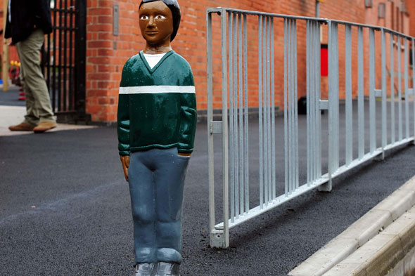 Council uses spooky child mannequins to deter speeding drivers
