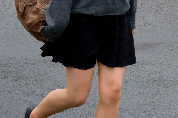 From mini to micro: schoolgirls' skirts are on the rise, says study