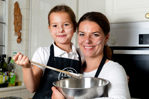 Dough! Seven-year-old daughter beats her baking mum in bread competition