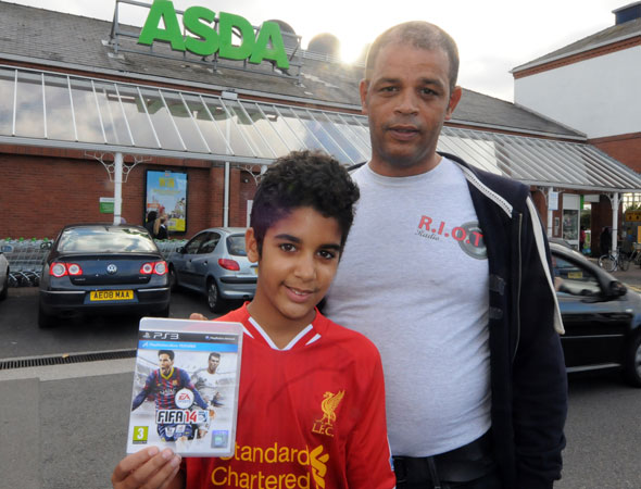 Asda jobsworth asks 13-year-old boy for ID to prove he's over THREE