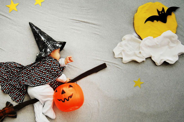 Mum turns baby's nap time into dreamy works of art