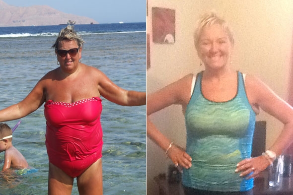 Obese mum thanks 'heaven-sent' heart attack for saving her life