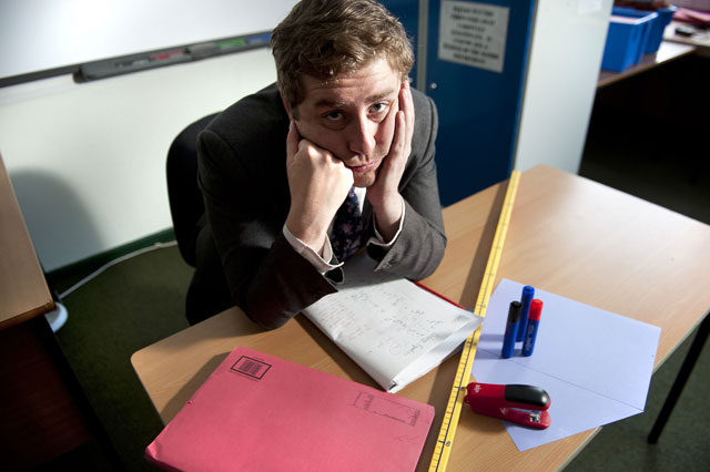 'Educating Yorkshire' teacher is allergic...to SCHOOL!
