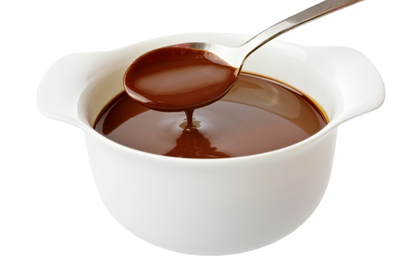 Seriously simple chocolate fudge sauce