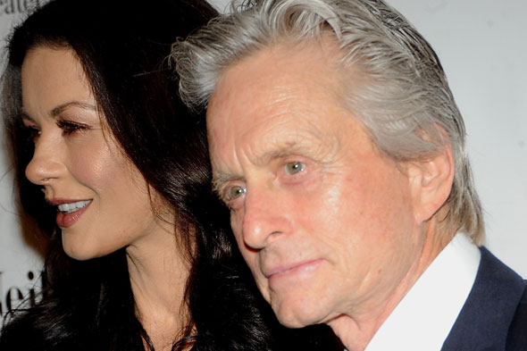 Catherine Zeta Jones and Michael Douglas in Thanksgiving reconciliation?