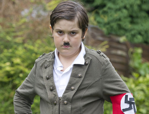 Mum sends son to school dressed as Hitler. Why?