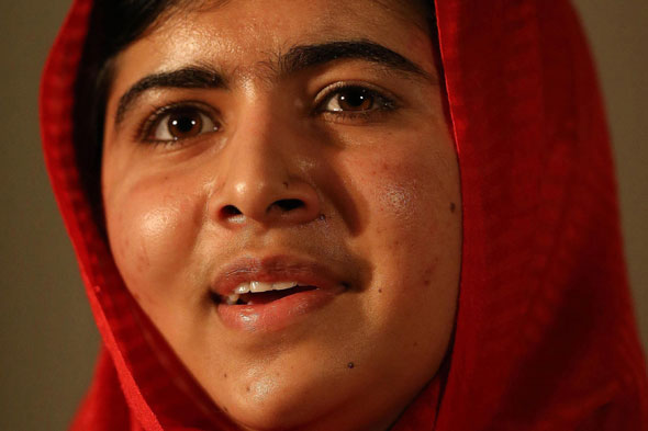 Pride of Britain award for Malala Yousafzai