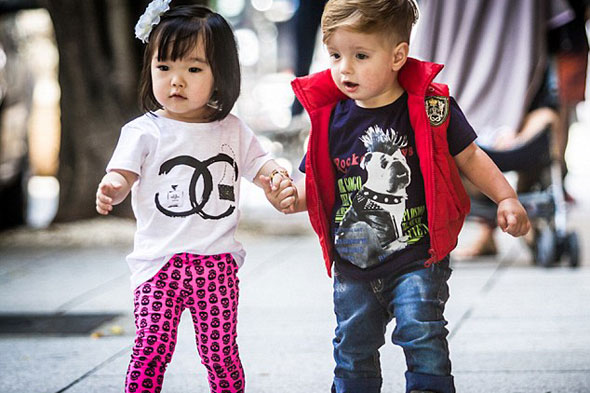 Cute or queasy? The Instagram site where parents post pics of their super-stylish Fashion Kids