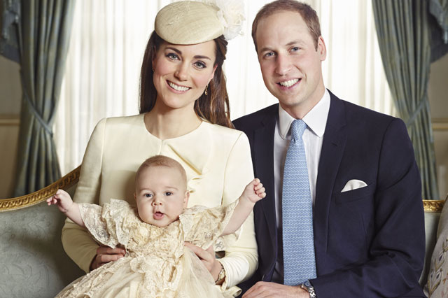 Prince George's christening: Historic family photos