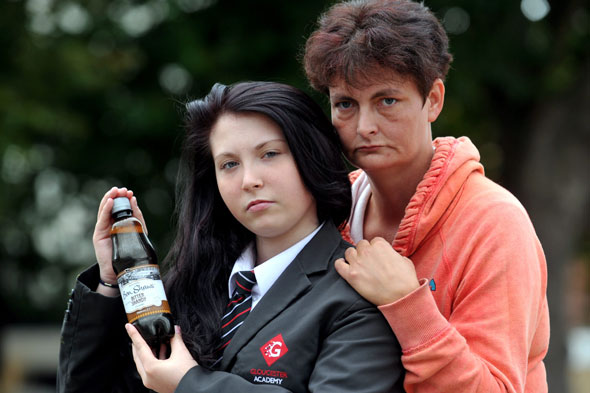 Schoolgirl suspended after teacher mistook her shandy for lager
