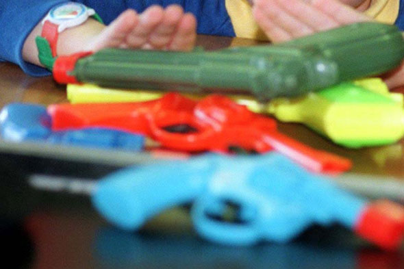 Boy, 13, shot by police for carrying plastic 'toy' rifle