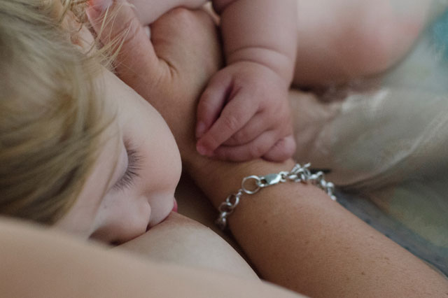 Mums star in breastfeeding calendar