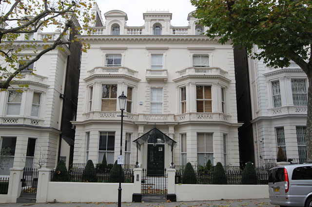 David And Victoria Beckham's New Family Home In West London