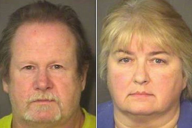 Foster parents arrested after hanging dead chicken around handcuffed boy's neck