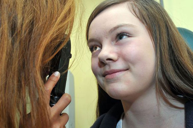 Better go to Specsavers - optician spots girl's brain tumour