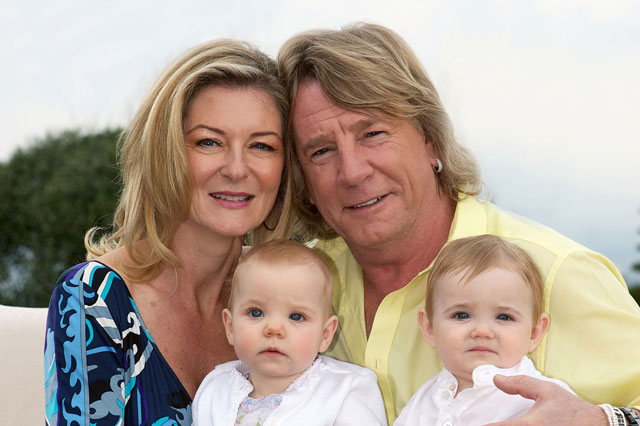 Ageing Status Quo rocker Rick Parfitt fears he'll never see his young twins reach 21old