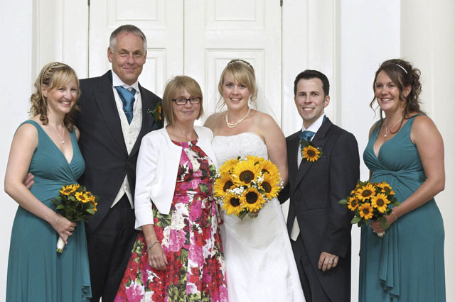 Sick mum makes it to daughter's wedding - thanks to 137 determined medics