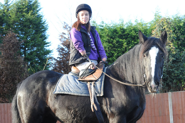 Teen who lost both legs and an arm to meningitis aims to be Paralympic horse rider