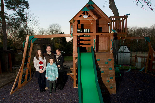 Parents ordered to tear down children's £2,500 garden playhouse