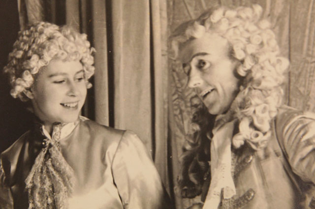 Pictures: Rare photos of The Queen as a teenage pantomime PRINCE go on sale