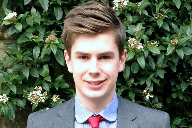 Student, 18, set to become Britain's youngest ever MP