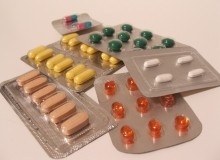 A selection of pills in blister packs
