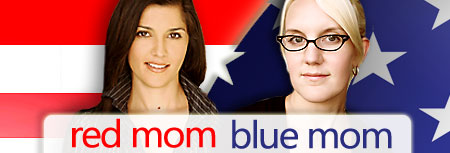 red mom blue mom