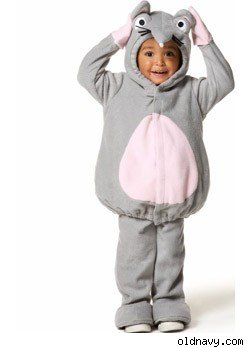 ParentWish - Gray Mouse Grey Mouse Costume