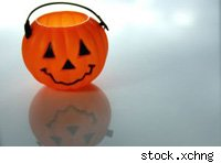 plastic pumpkin 