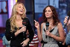 Blake Lively and Leighton Meester of Gossip Girl