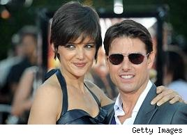 Katie Holmes and Tom Cruise, aka TomKat