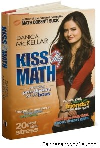 Danica McKellar's new book, Kiss My Math