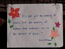 quote about midwives