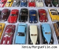 A selection of toy cars