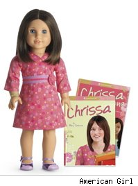 American Girl Doll Chrissa