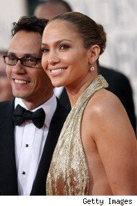 Jennifer Lopez Marc Anthony Golden Globes