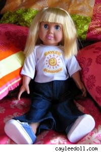 caylee anthony tribute doll