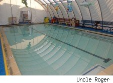 A swiming pool