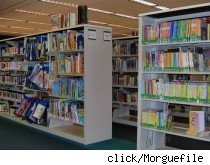 Children's section of a library