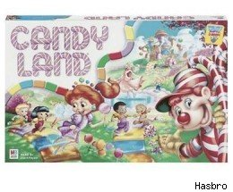 The classic board game Candy Land