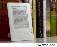 The new Amazon Kindle 2 electronic book.