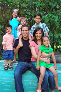 Rachel Campos-Duffy and Sean Duffy