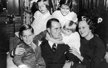 Grace Kelly and Family