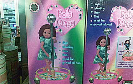 poll dance doll